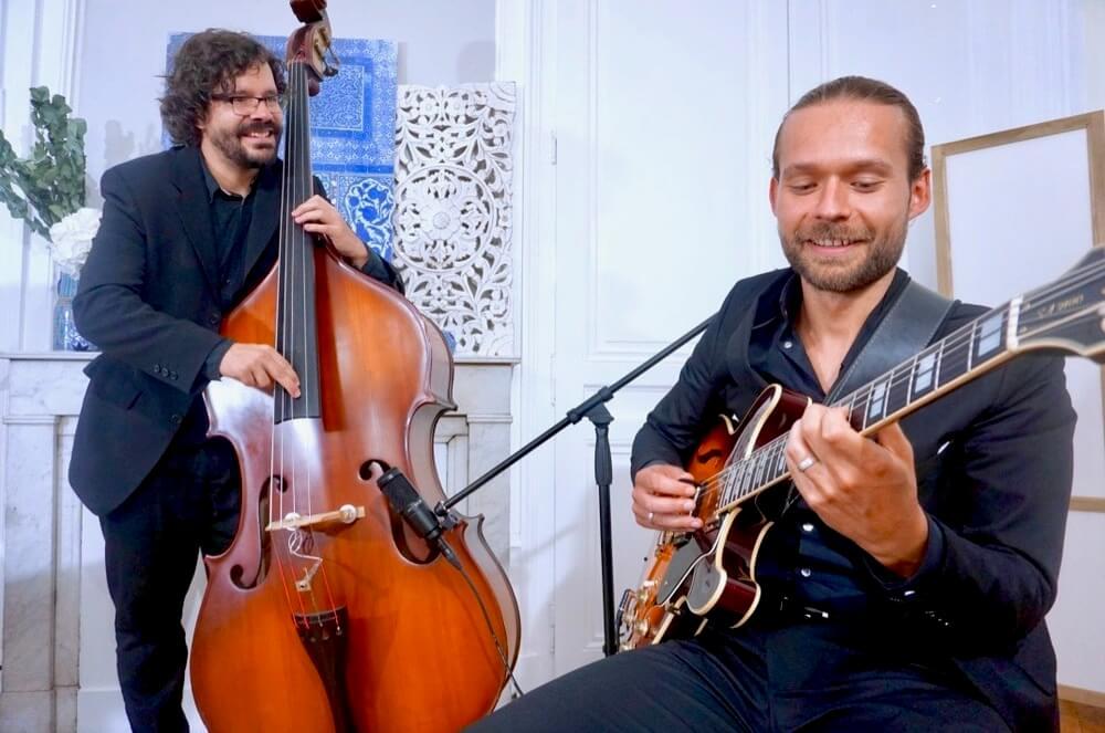 duo contrebasse/guitare Jazz Way
