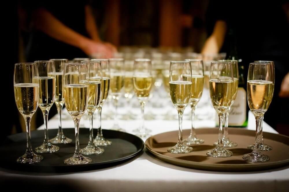 champagne-vin d'honneur